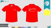 Mẫu áo đồng phục công ty màu đỏ