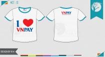 Mẫu áo đồng phục công ty vnpay