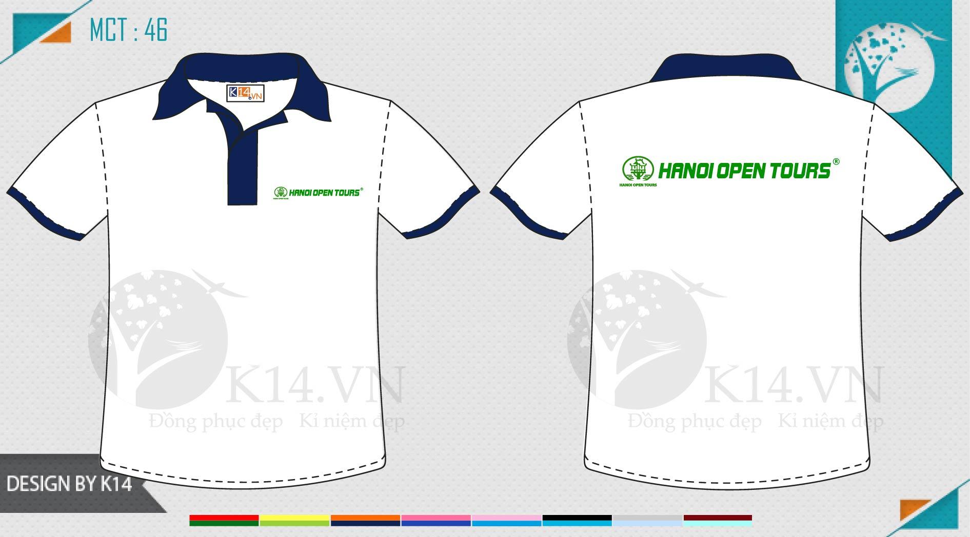 Đồng phục công ty du lịch Hà Nội Open Tour